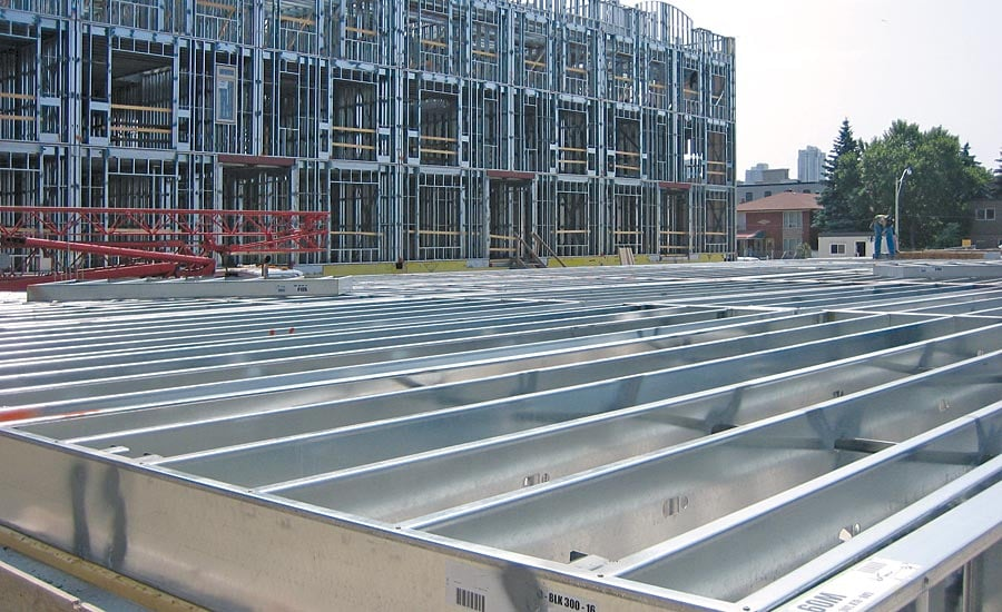 Light Gauge Steel for Framing used by many Builders and Developers